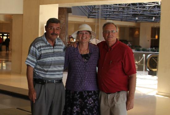 Taxi Tours - Jordan Daioglou: Jordan with Wendy and Dave W.