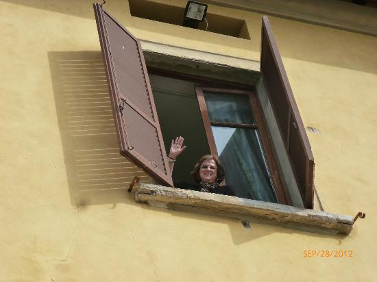 Hotel Villa Tavolese: Third Floor Window
