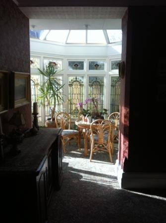 Headlands Hotel: small conservatory on 2nd floor