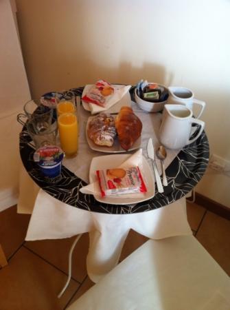 Locanda al Viminale : vassoio della colazione in camera :-) spettacolo