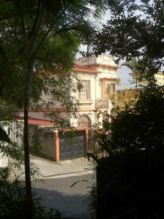 Cafe Mundo : una terraza con vista. esta fotomla tomé desde la terraza y desde ahí se puede apreciar el herm