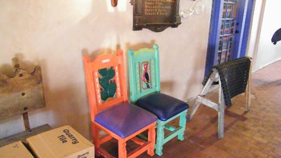 La Posta de Mesilla: some designer chairs