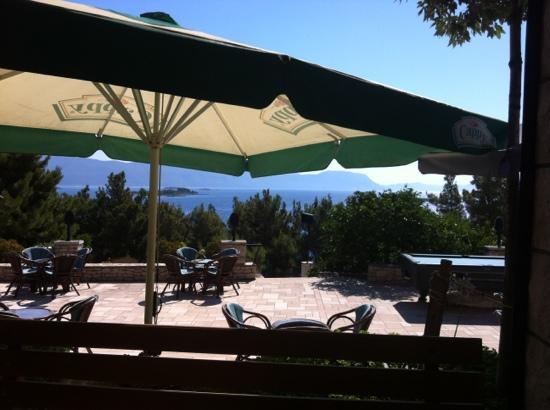 Pension Bebic: view from the restaurant