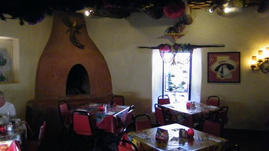La Posta de Mesilla: one of the many room