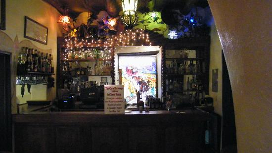 La Posta de Mesilla: bar area inside