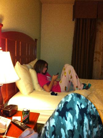 Brookstone Lodge: The kid would die if no wifi