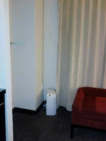 Colcord Hotel: Random air filter