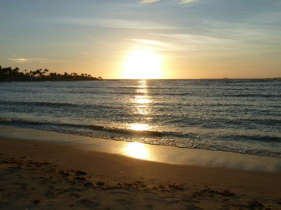 Grand Bahia Principe La Romana: Beautiful sunset