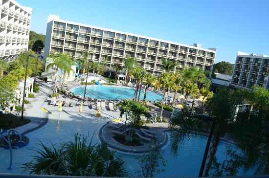 Sheraton Lake Buena Vista Resort: View from our room