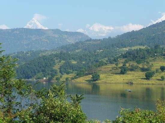 Begnas Lake Resort: View from bedroom
