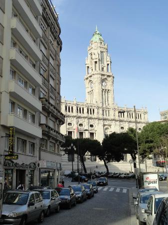 Vera Cruz Porto Hotel : hotel met gemeentehuis van Porto