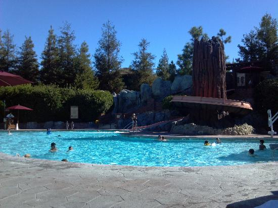 Disney's Grand Californian Hotel & Spa: Pool and pool-side service were both superb!