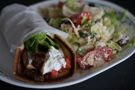 Gainsborough Restaurant : Beef Souvlaki goodness !