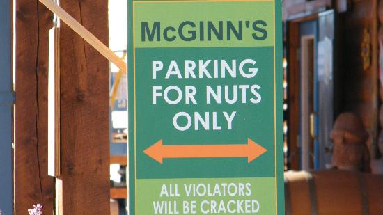 McGinn's PistachioLand: entrance sign
