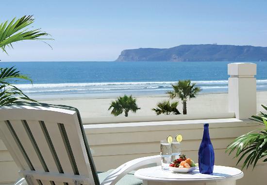 Hotel del Coronado: Ocean View Villa Balcony