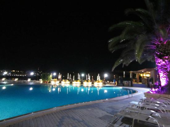Excelsior Grand Hotel: swimming pool and a bar