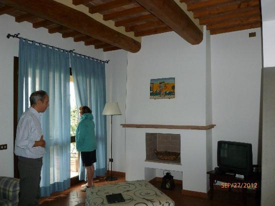 Il Borgo di Villa Bossi-Pucci: Living room