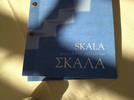 Skala Restaurant: menu