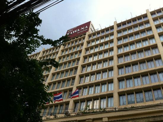 โรงแรมตวันนา: Hotel's facade
