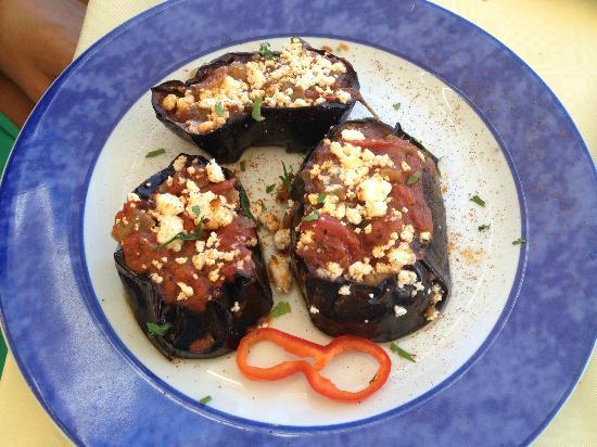 Skala Restaurant: eggplant