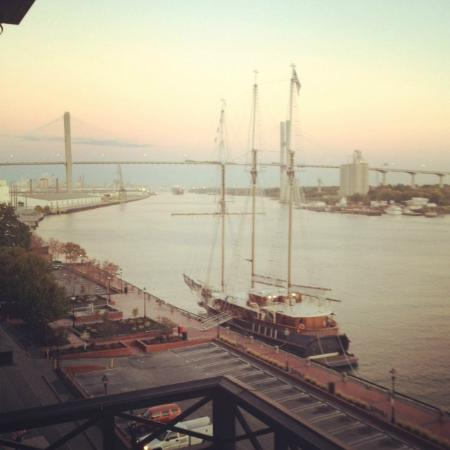 The Bohemian Hotel Savannah Riverfront, Autograph Collection: View from balcony