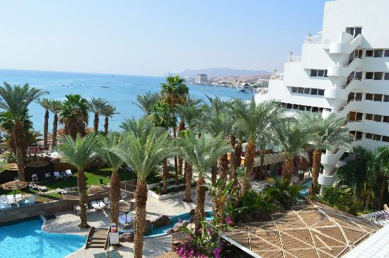 Leonardo Plaza Hotel Eilat: View from 4th floor