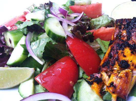 Pomegranate on Main: Salmon Salad