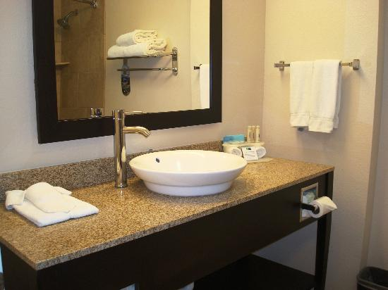 Holiday Inn Express Hotel & Suites Albuquerque Airport: Beautiful bathroom