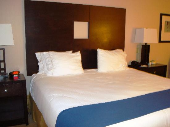 Holiday Inn Express Hotel & Suites Albuquerque Airport: Comfortable bed with nice bedding