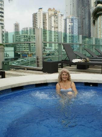 Radisson Decapolis Hotel Panama City: en el jakuzi