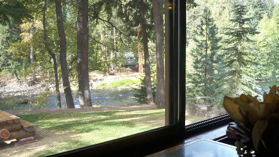 Whistlin' Jack Lodge: View from our room