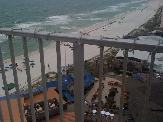 The Summit Condominiums: Your beautiful view of the ocean just past the two clubs just below: