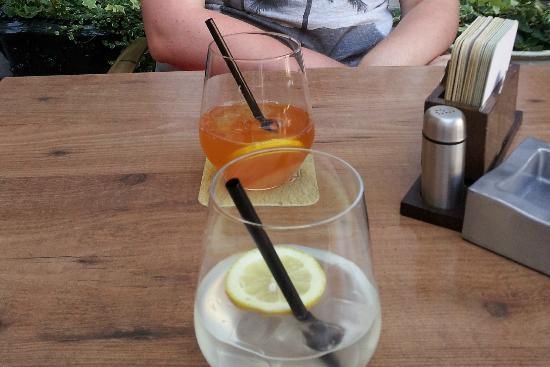 Al Minuto : Limonade et ice tea maison