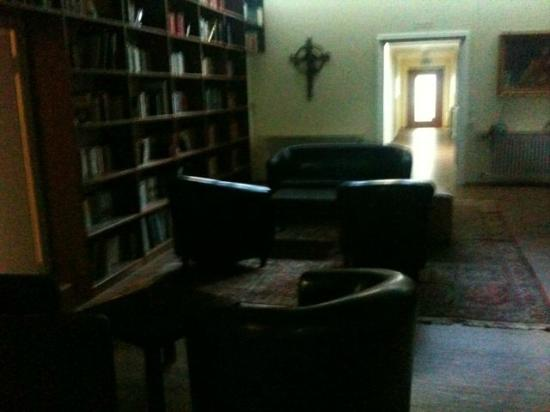 Kloster Maria Hilf: On of the common rooms, my room was down the hall