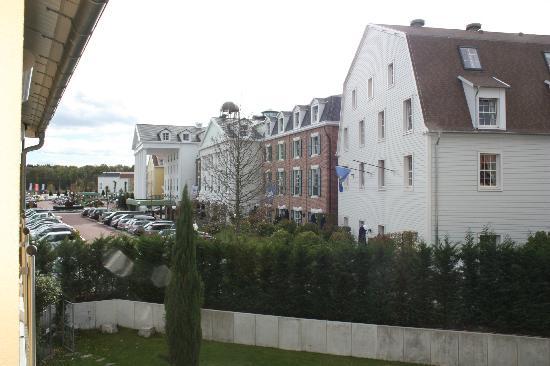 Hotel Andante : Vue de notre chambre