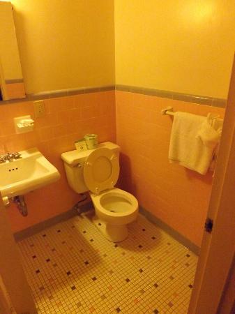 Americana Hotel: Restroom