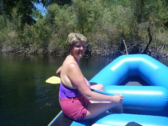 Sunshine Rafting Adventures: Ali looks pretty cool