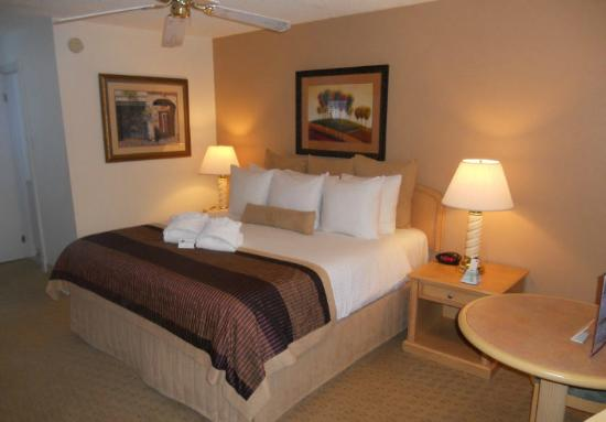 Twin Peaks Lodge & Hot Springs: Very Comfortable King Size Beds