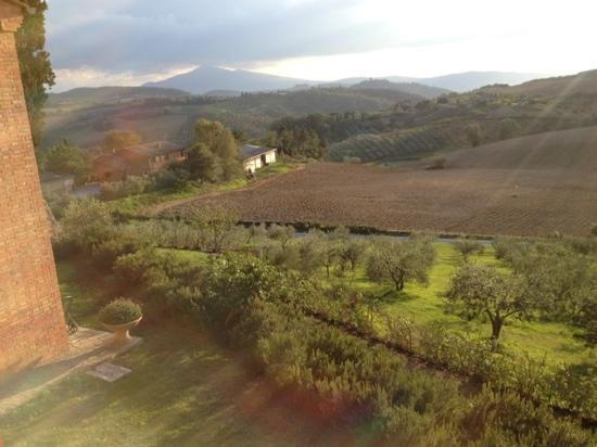 Villa Poggiano: view from our suite