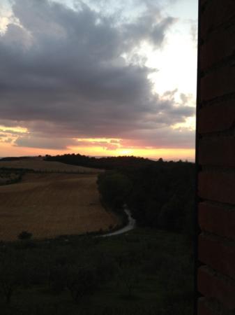 Villa Poggiano: view
