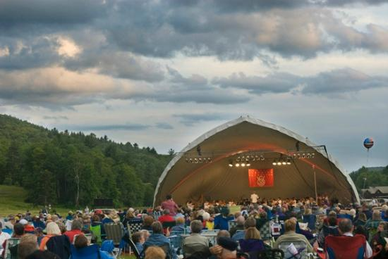 Grafton Inn: Annual Vermont Symphony Concert at Grafton Ponds every July 3