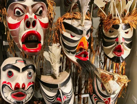Antropologiska museet: Vancouver - Museum of Anthropology - Masks