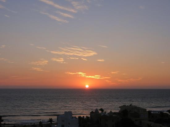Sea Garden Mazatlan : Beautiful Sunset from the Balcony :-)