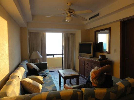 Sea Garden Mazatlan : Our living room was so friendly!