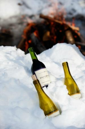 Grafton Trails & Outdoor Center: Our wine & cheese snowshoe hikes are offered weekly - so fun