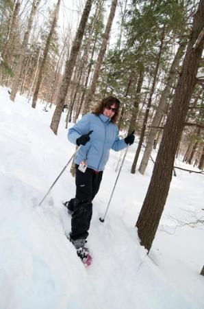 Grafton Trails & Outdoor Center: We offer 10 k of snowshoe trails at Grafton Ponds Outdoor Center