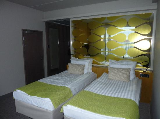 Solo Sokos Hotel Paviljonki: Super-comfy beds
