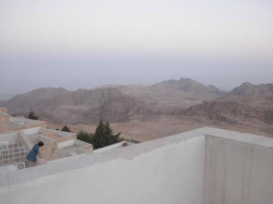 Petra Panorama Hotel: view from balcony