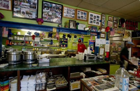 Three Chopt Sandwich Shoppe: Kitchen at Three Chopt Sandwich Shop
