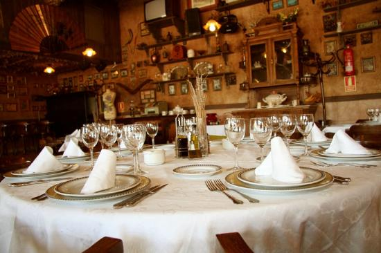 Mesa Decorada Picture Of Restaurante Parque De La Ribota